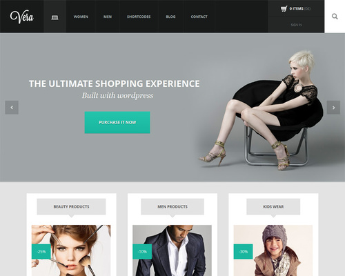 eCommerce Theme for WordPress