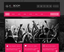Music & Events WordPress Theme