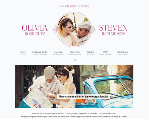 Game Over - WordPress Wedding Template | Themeshaker.com