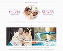 WordPress Wedding Template