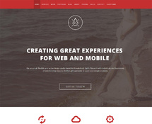 Clean One-Page WordPress Theme