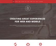 Clean One-Page WordPress Theme