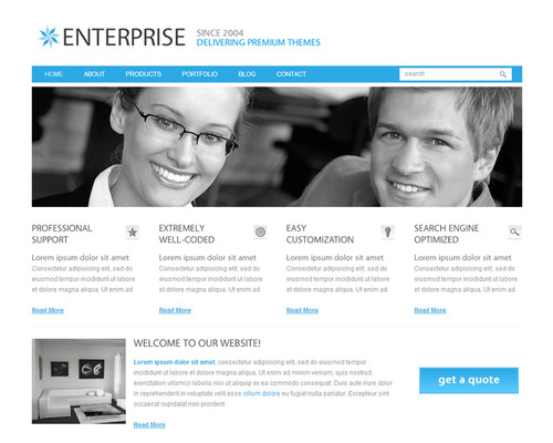 WordPress Corporate Business Theme
