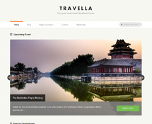 WordPress Theme for Travel Agency