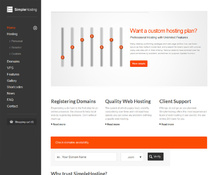 WordPress Theme for Hosting Company