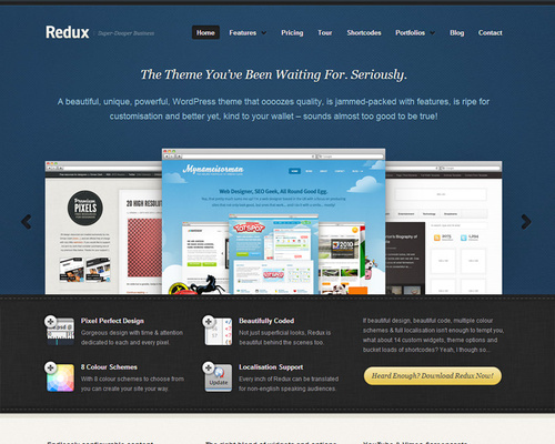 WordPress Theme for Apps and Services