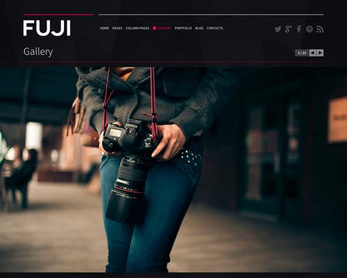 Modern HTML5 WordPress Theme