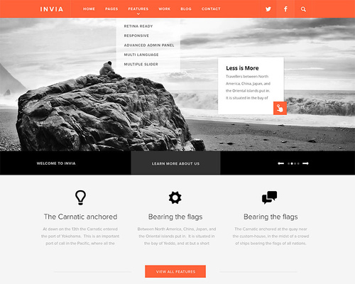 Bootstrap WordPress Theme