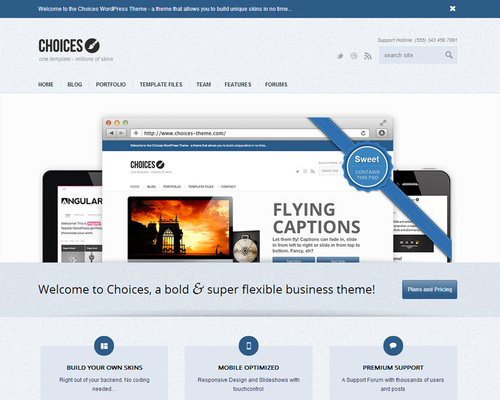 Responsive Wordpress Theme for Business