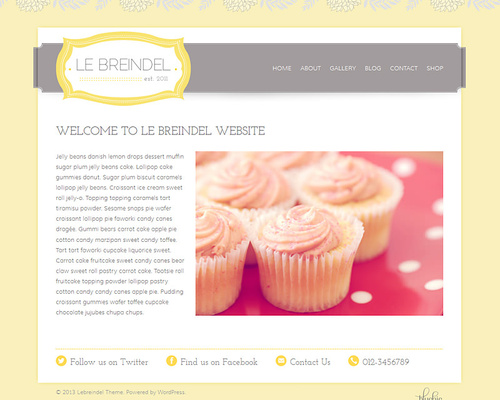 Vintage Store WordPress Theme