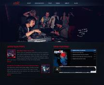 WordPress DJ Theme