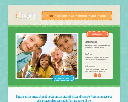 Primary School WordPress Theme
