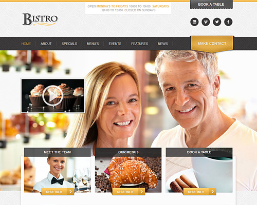 WordPress Bistro Theme
