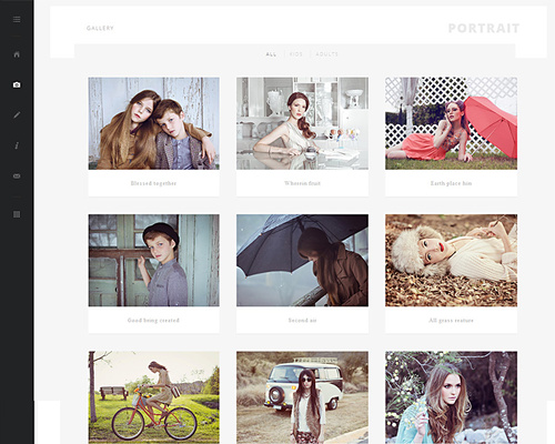 WordPress Photographer Theme