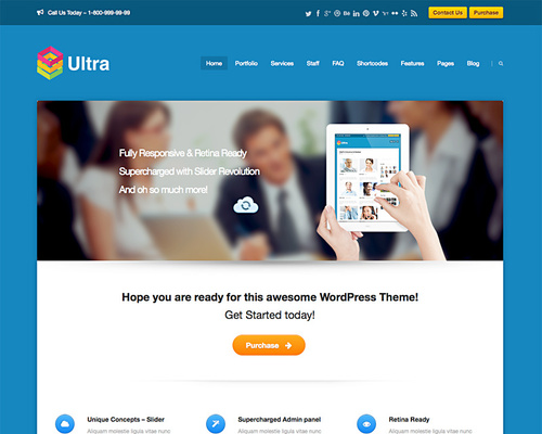 Fully Customizable WordPress Theme