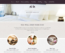 WordPress Guesthouse Theme