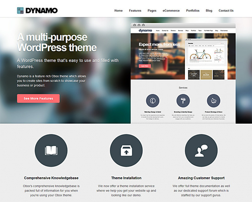 WordPress Customizable Theme