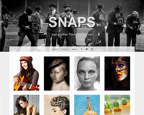 Free WordPress Image Gallery Theme
