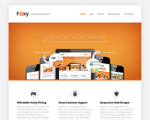 Elegant Business WordPress Theme