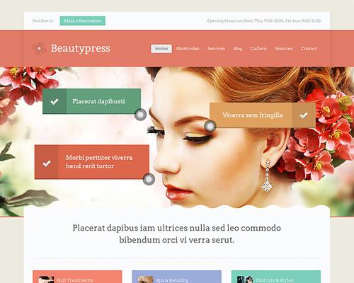 Beauty & SPA Center WordPress Theme