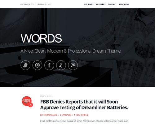 Premium Blog WordPress Theme