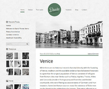 Personal WordPress Template