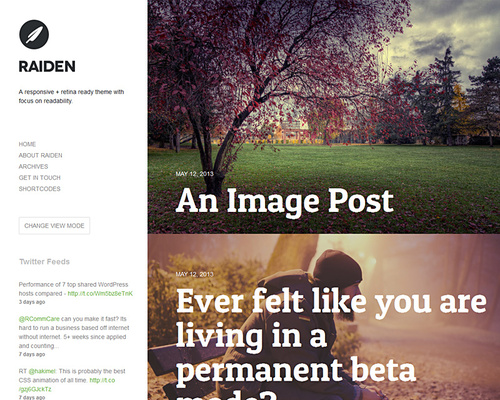 WordPress Blog with Style