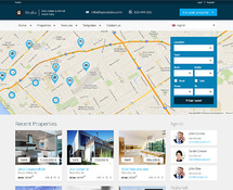 Real Estate & Rental Business WordPress Theme
