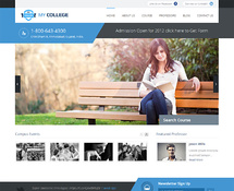 WordPress Theme for Education