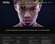Animated Parallax WordPress Theme