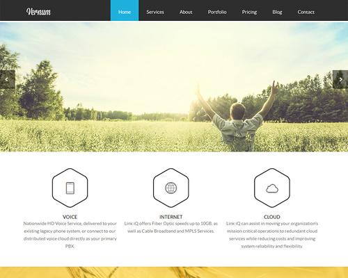 One-page WordPress Themes | Themeshaker.com