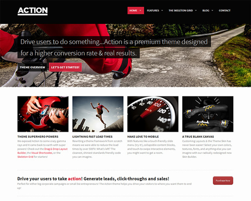 Business & Marketing WordPress Theme