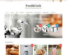 Cooking Recipe & eCommerce WordPress Theme