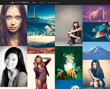 WordPress Photography Template