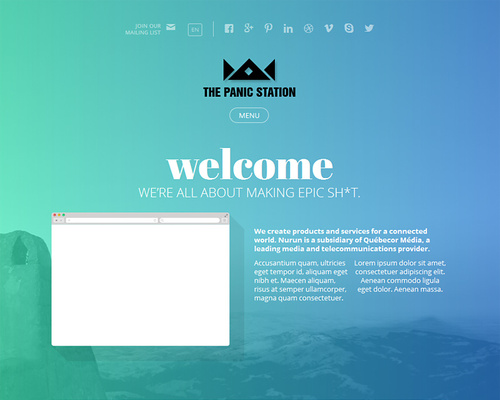 Creative Showcase WordPress Theme