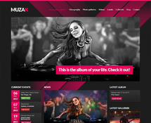 DJ & Music WordPress Theme