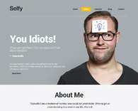 Selfy-responsive-vcard-wordpress-theme