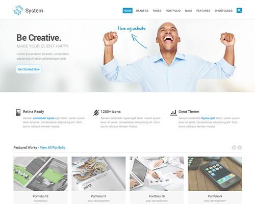Classy WordPress Corporate Theme