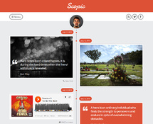 Timeline Tumblog WordPress Theme