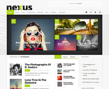 Live WordPress Magazine Theme