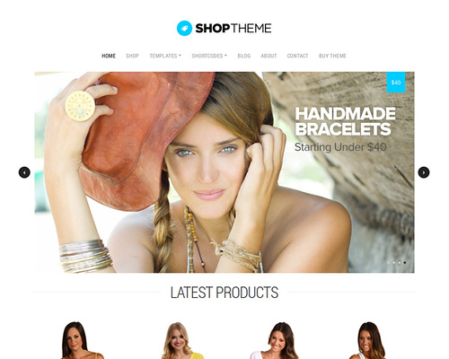Simple Shopping WordPress Theme