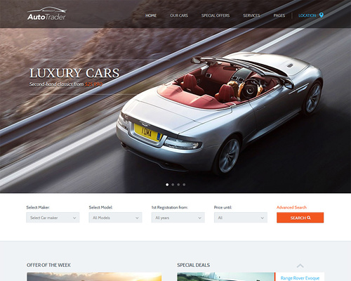 Auto Marketplace WordPress Theme