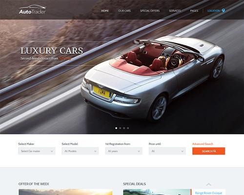 Auto Marketplace WordPress Theme