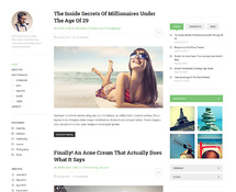 Free Responsive WordPress Theme for Blog