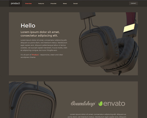Product Showcase WordPress Theme