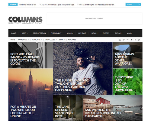 Modular Magazine WordPress Theme
