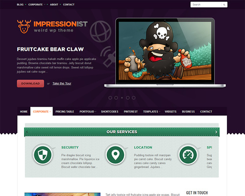 Impressive WordPress Theme