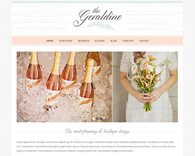 Geraldine-wedding-blog-wordpress-theme