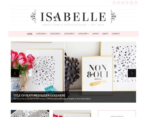 Home Living & Lifestyle WordPress Theme