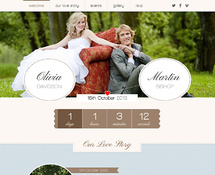WordPress Theme for Wedding